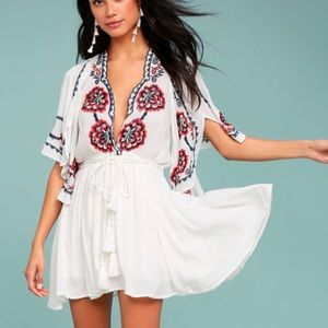 Free People Cora Embroided Dress